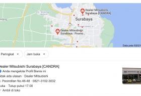 Alamat Dealer Mitsubishi Surabaya